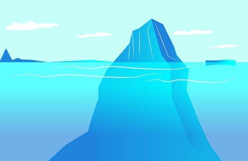iceberg subconscious conscious